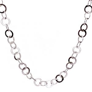 Caroline Jones little circles chain necklace 01