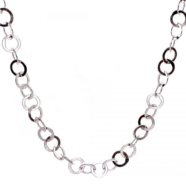 Caroline Jones little circles chain necklace 01