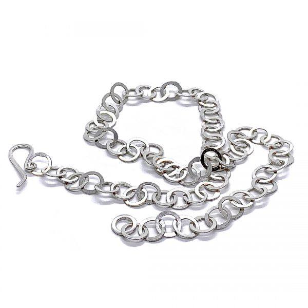 Caroline Jones little circles chain necklace 02