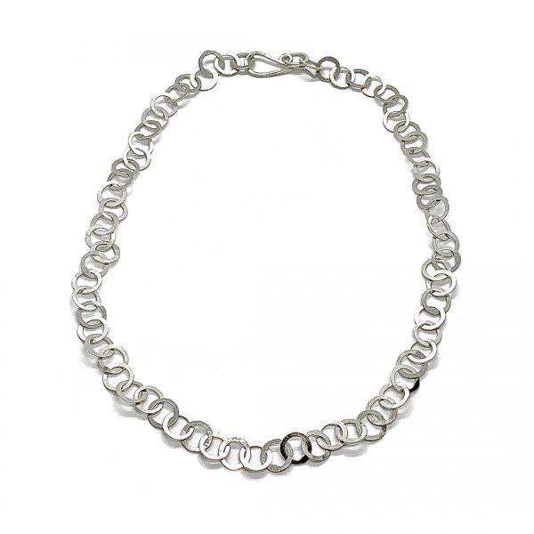 Caroline Jones little circles chain necklace 03
