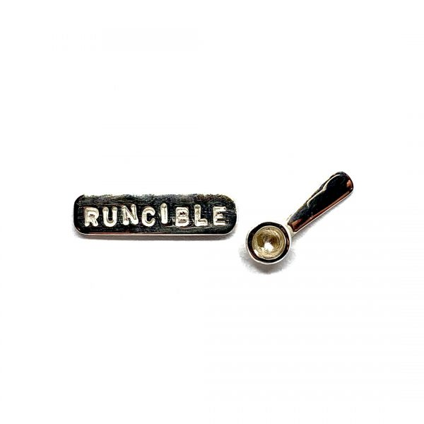 Caroline Jones runcible spoon studs