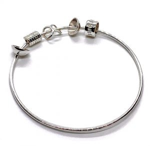 Caroline Jones single bangle with charms 01