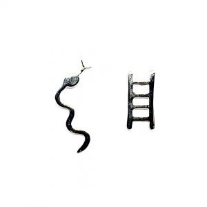 Caroline Jones snakes and ladders studs