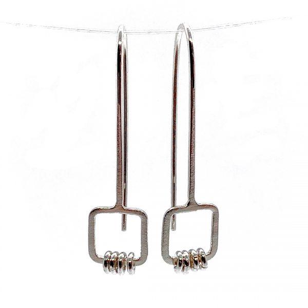 Caroline Jones squares with loops earrings 01