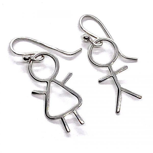 Caroline Jones stick people earrings 03