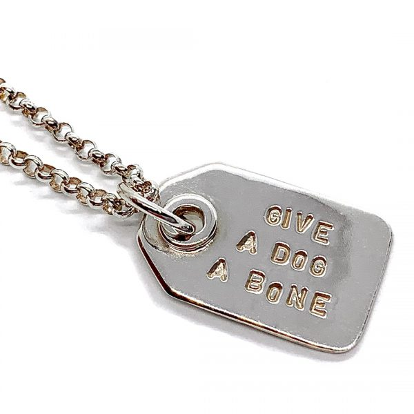 Caroline Jones swing tag necklace 02